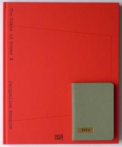 Die kleine Originalausgabe des Buches (2.A.) und die neue Ausgabe im Größenvergleich.