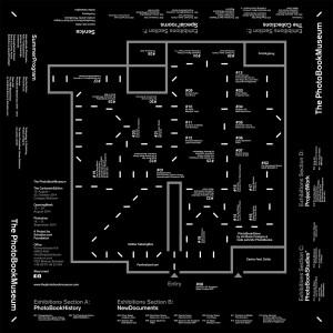 Lageplan(entwurf) der Ausstellung