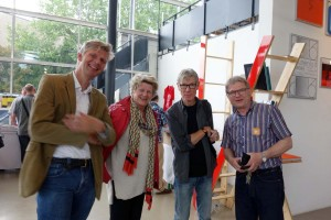 Bart Sorgedrager, Corinne Noordenbos, Harvey Benge, Dieter Neubert