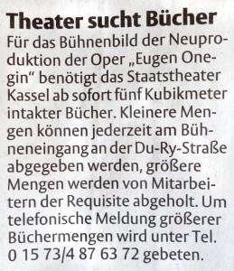 HNA Kassel, 14.1.2015