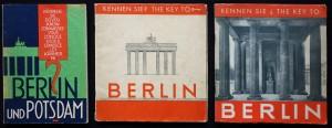 Werner-Rades, drei Ausgaben Berlin (ca. 1927-1931)