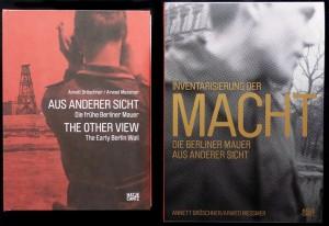 Links die erste Ausgabe des Buches, rechts die Neuausgabe
