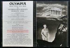 Olympia - Fest der Völker, Illustrierter Film-Kurier (Berlin), Nr. 2792 (Hervorhebung TW)