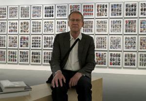 Hans Eijkelboom vor seinem documenta-Beitrag