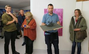 """Präsentation """"The Migrants"""" von Anaïs López in der Galleri Image"""