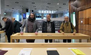 Stijn van der Linden, Jens Schwartz, Kensaku Seki