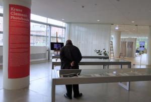 Ausstellung der Fotobücher von Krass Clement im ARoS