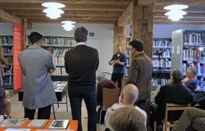 Michel Huneault bei seiner Präsentation