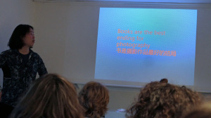 Präsentation von Lijie Zhang in der Galleri Image