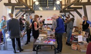 Der abschließende Fotobuchmarkt am Sonntag