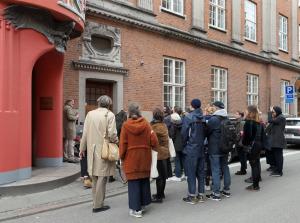 Führung zu den konkaven Ecken von Aarhus mit Jesper Rasmussen und Stijn van der Linden