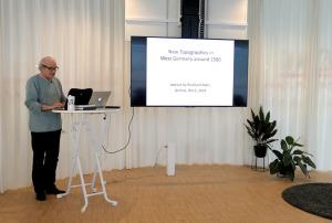 Reinhard Matz bei seinem Vortrag