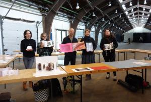 Paula Roush und die Teilnehmer/Teilnehmerinnen des Workshops