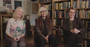Die Inhaberinnen des Argosy Bookstores
